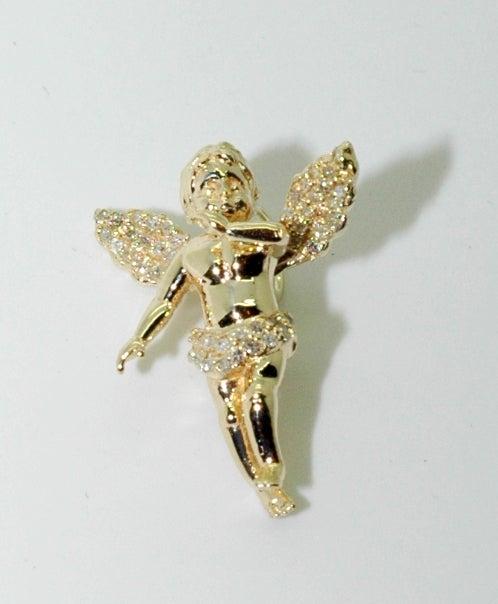 Image of Micro Gold Baby Angel Diamond