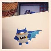 Image of batbear print
