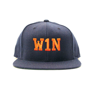 Image of W1N Snapback Cap - Navy