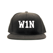 Image of W1N Snapback Cap - Black