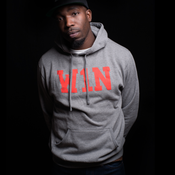 Image of W1N Hoodie - Charcoal Heather