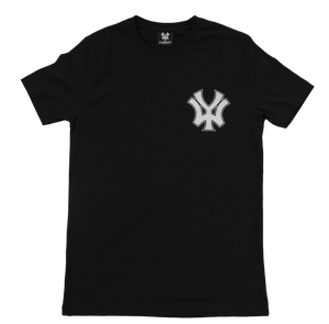 Image of 'WY' Small Logo T-Shirt - Black/White