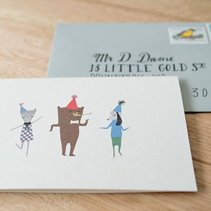 Image of Party Greeting Card