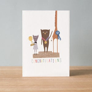 Image of  Congratulations Greeting Card