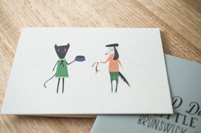 Image of Pet Sympathy Greeting Card
