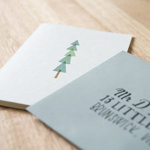 Image of Christmas Tree Greeting Card