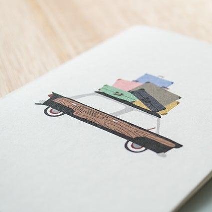 Image of Bon Voyage/Moving House Greeting Card