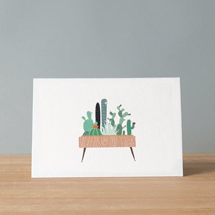 Image of Cactus Greeting Card
