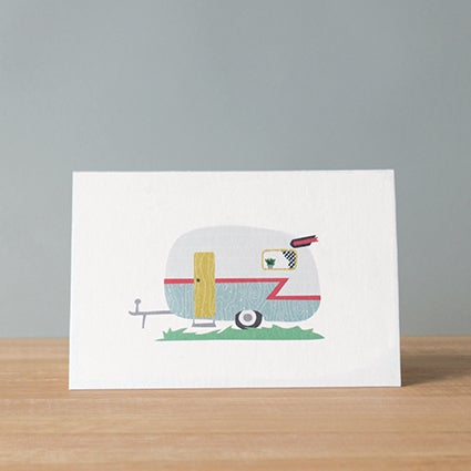 Image of Caravan Greeting Card