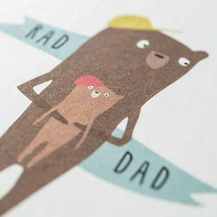 Image of Greeting Card for Dads