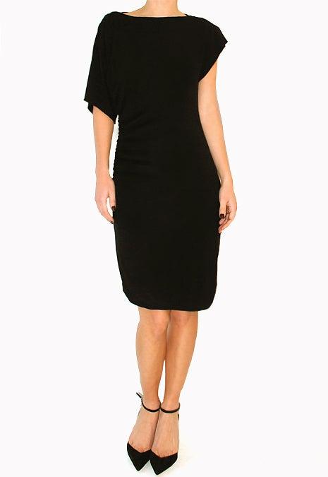 Image of Hoss Intropia - Asymmetrical Black Dress