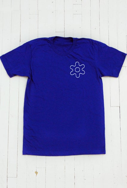 Image of MEN'S GEAR T-SHIRT IN ROYAL BLUE