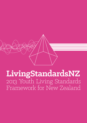 Image of 2013 Youth Living Standards Framework for New Zealand