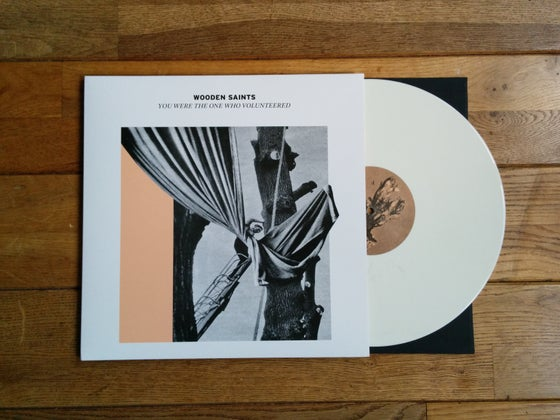 Image of ''You Were The One Who Volunteered'' LP on 12'' 180 grams white vinyl
