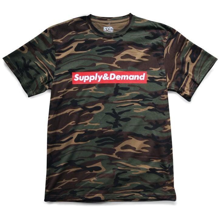 "Image of ""Supply & Demand"" Shirt - Camo"