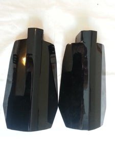 Image of Stainless Steel Powdercoated Coffin Cut Wind Guards
