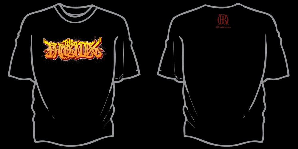 Image of Phoenix T-shirt (Graffiti)