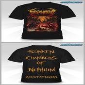 Image of SUNKEN CHAMBERS OF NEPHILIM Album Art shirt