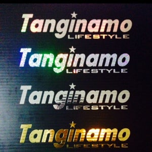 Image of TANGINAMO LIFESTYLE sticker