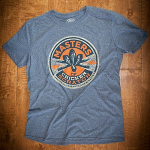Image of MOCS Logo shirt Navy Heather