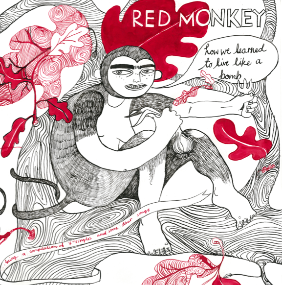 Image of VOLT 2   RED MONKEY   How We Learned To Live Like A Bomb LP