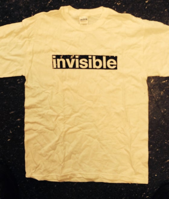 Image of Invisible Records shirt