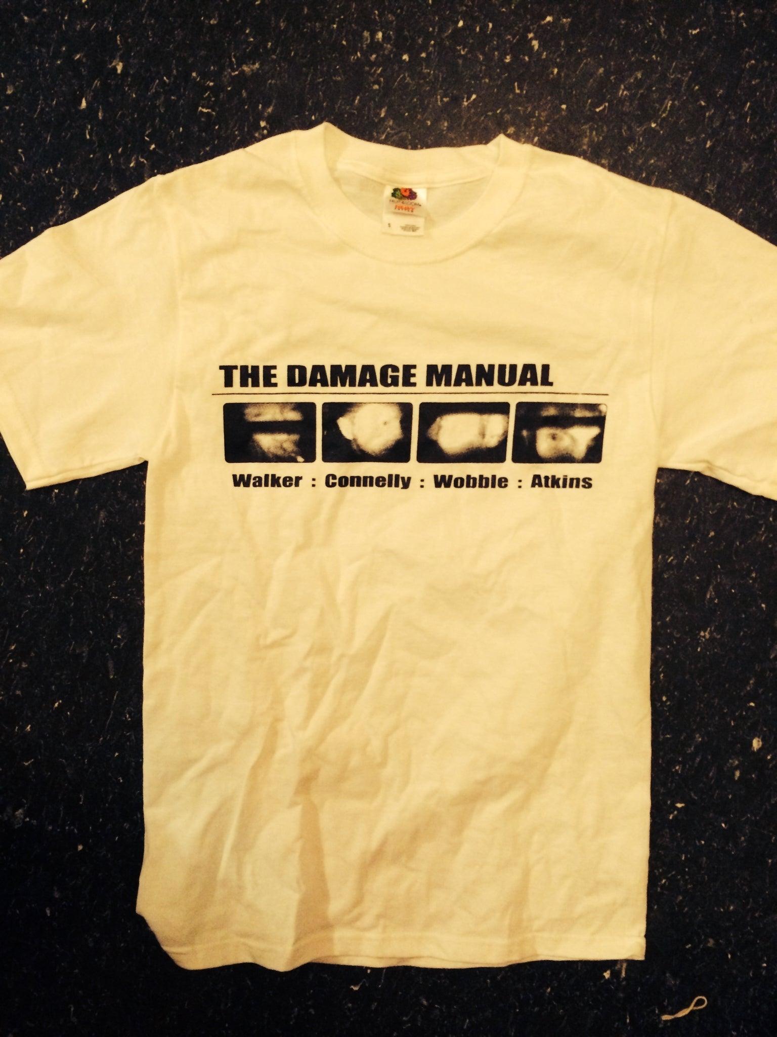 Damage Manual w/names shirt / Martin Atkins
