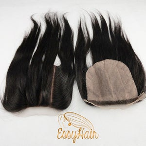 Image of 5*5 Silk Three Part Closure -CUSTOM