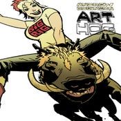 Image of ART HOG :: ANDREW ROBINSON Art Book