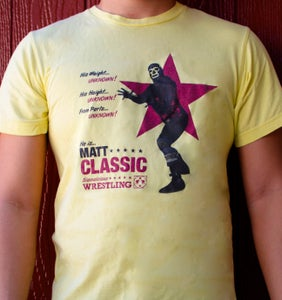 Image of From Parts Unknown: Matt Classic (Soft Yellow)