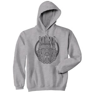 Image of Young King - Black on Grey Hoodie