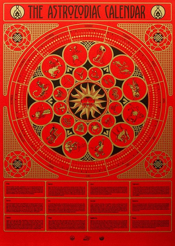 Image of The Astrozodiac Calendar