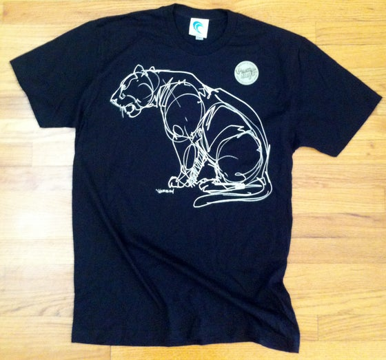 Image of Fauna Shirts Jaguar Gesture