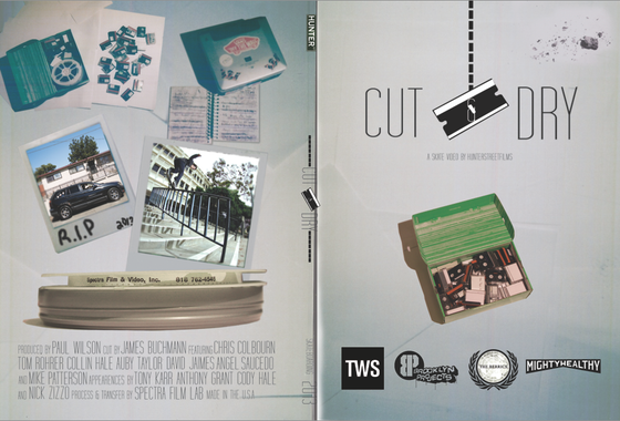 Image of Cut and Dry Skate Video DVD