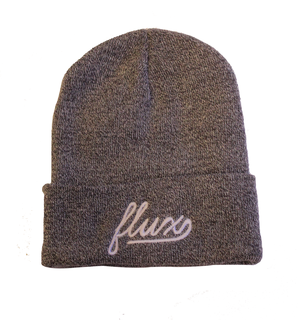 Image of FLUX Logo Beanie - Grey