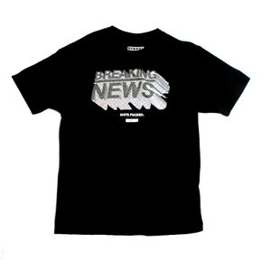 Image of Breaking News Black Tee