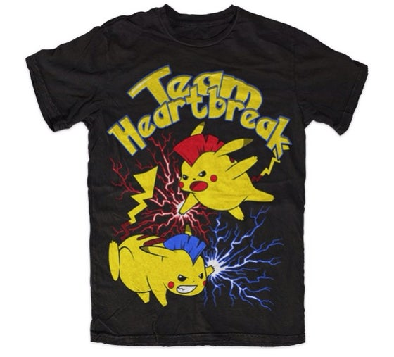 Image of Pikachu Pokemon Battle Shirt