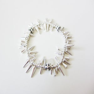 Image of Gold or Silver Spike Bracelet
