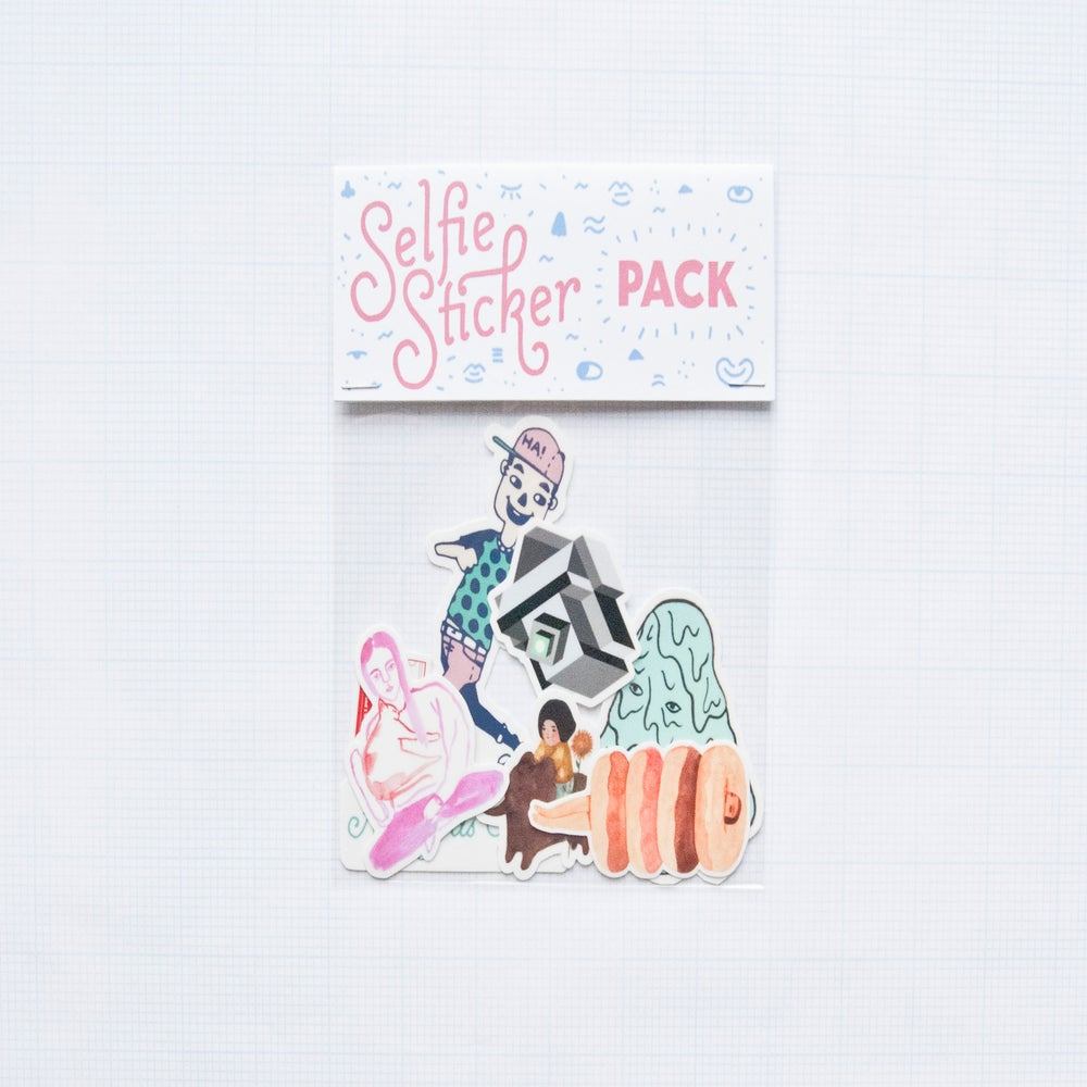 Image of The Selfie Sticker Pack