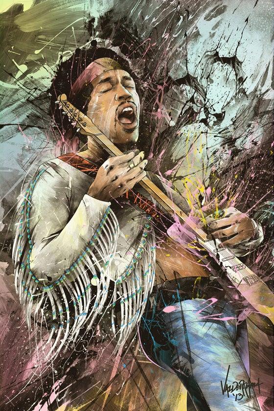"""Image of """"Jimi Hendrix, 1942-1970"""""""