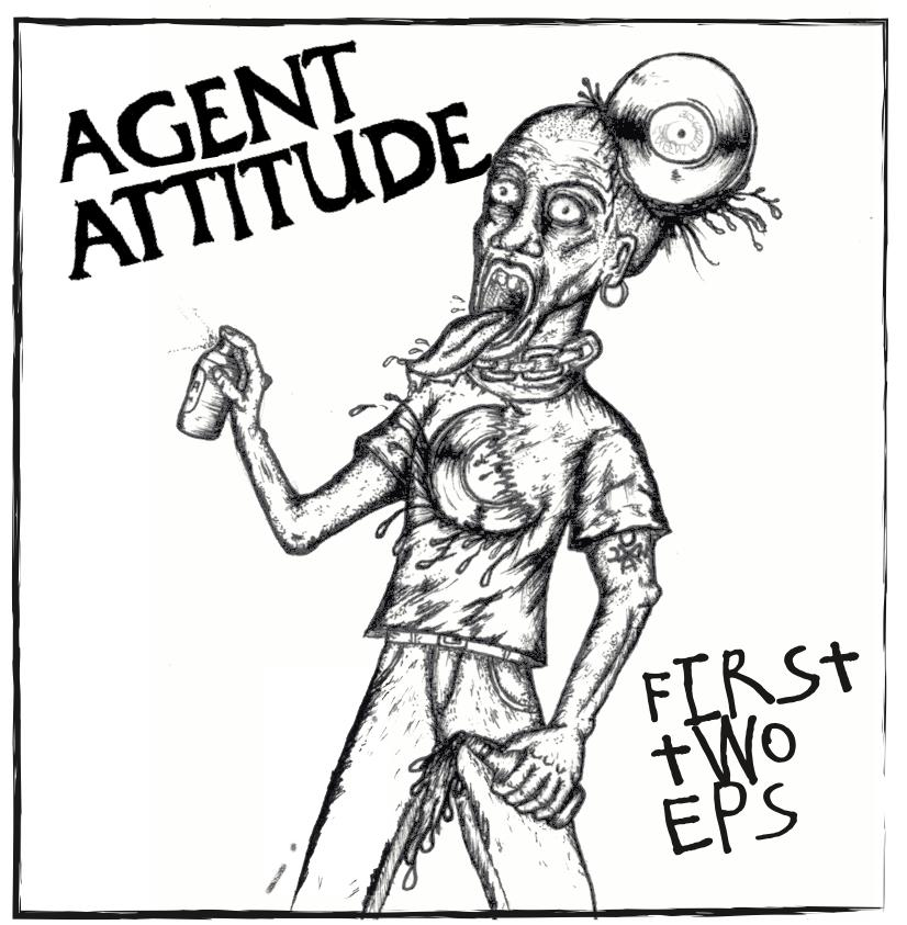 "Image of AGENT ATTITUDE ""first 2 ep's"""
