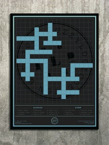 Image of 18x24 FLD Puzzle Poster, Crossword