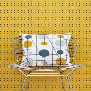 Image of Peggy Wallpaper - Mustard