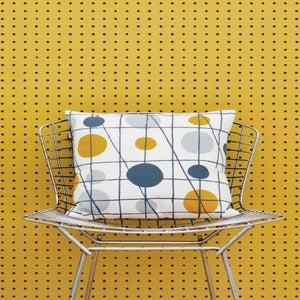 Image of Peggy Wallpaper - Mustard