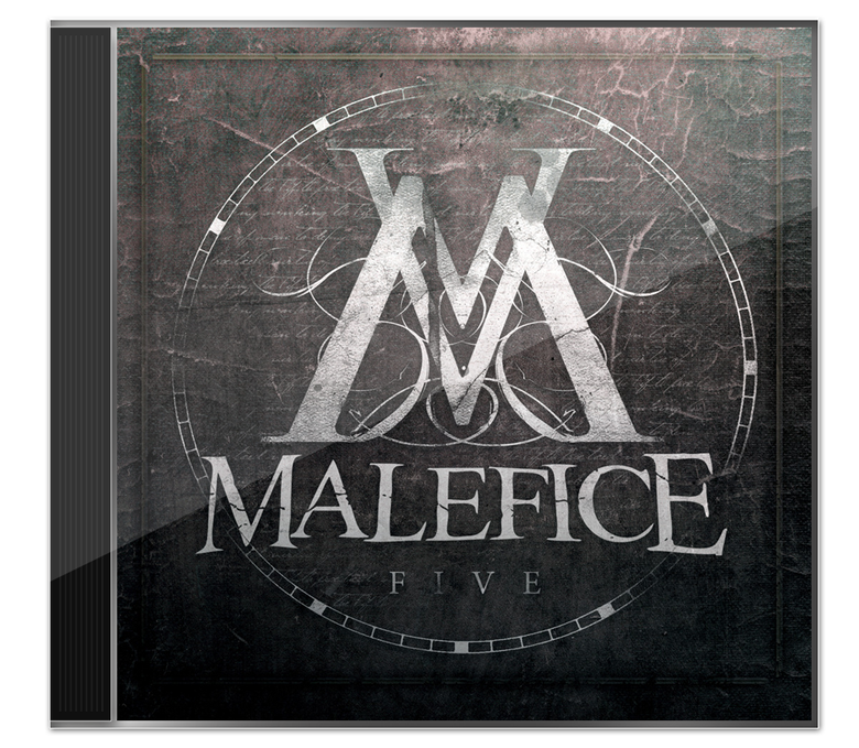 Image of Malefice - 'V' CD Album