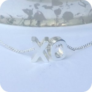 Image of Hug and Kisses Necklace XO necklace