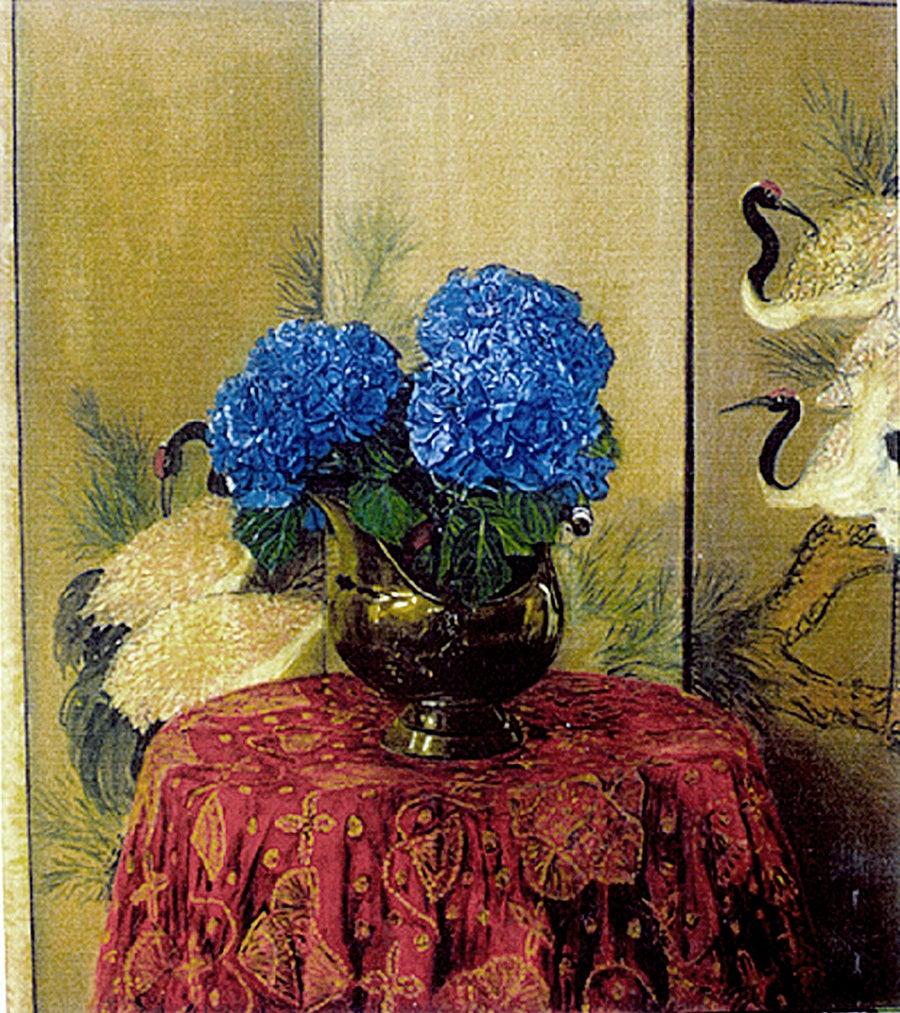 Image of Blue Hortensias