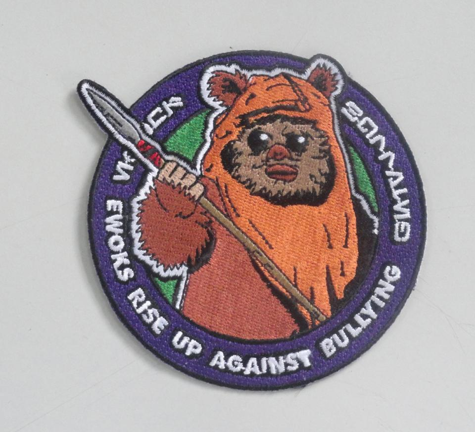 Image of Ewoks Rise Up Against Bullying Patch 4""