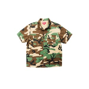"Image of SUPREME ""NAM"" BUTTON-UP"
