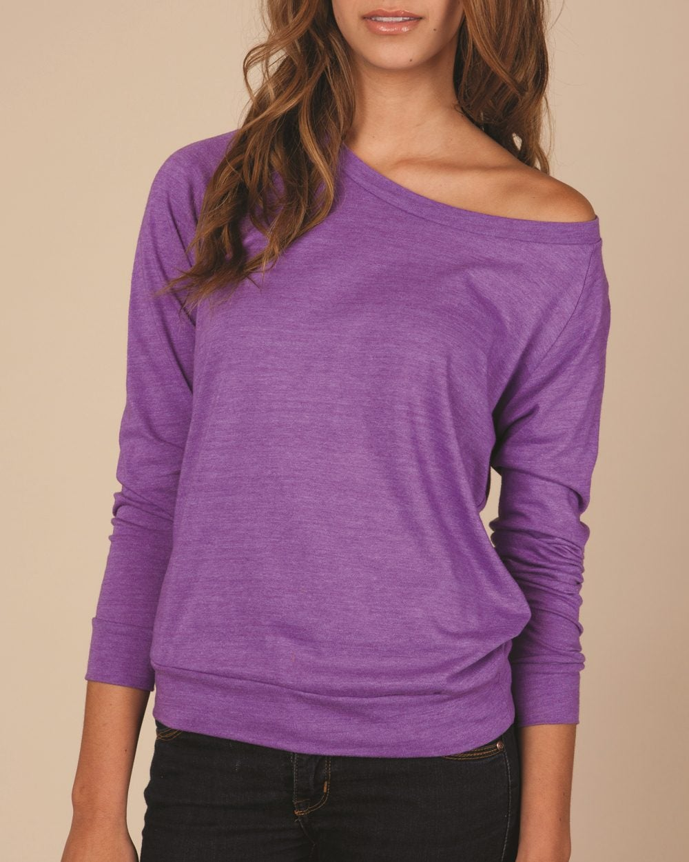 Alternative - Ladies' Eco-Jersey Slouchy Pullover - 1990e1 / SM ...